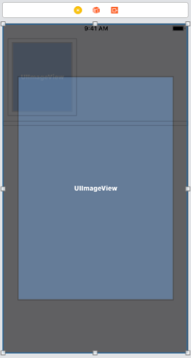 set UIView and UIImageView for Animation