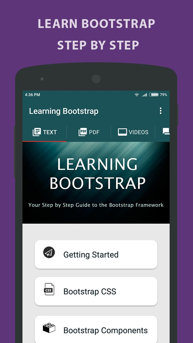 LearningBootstrap - Tutorial