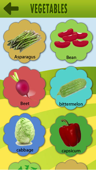 Vegetables For Kid