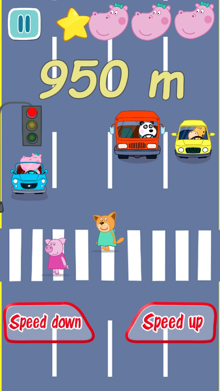 Baby Car Racing