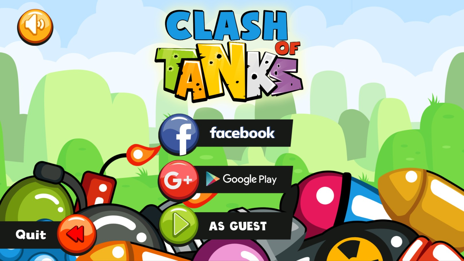Clash Of Tanks - Multiplayer