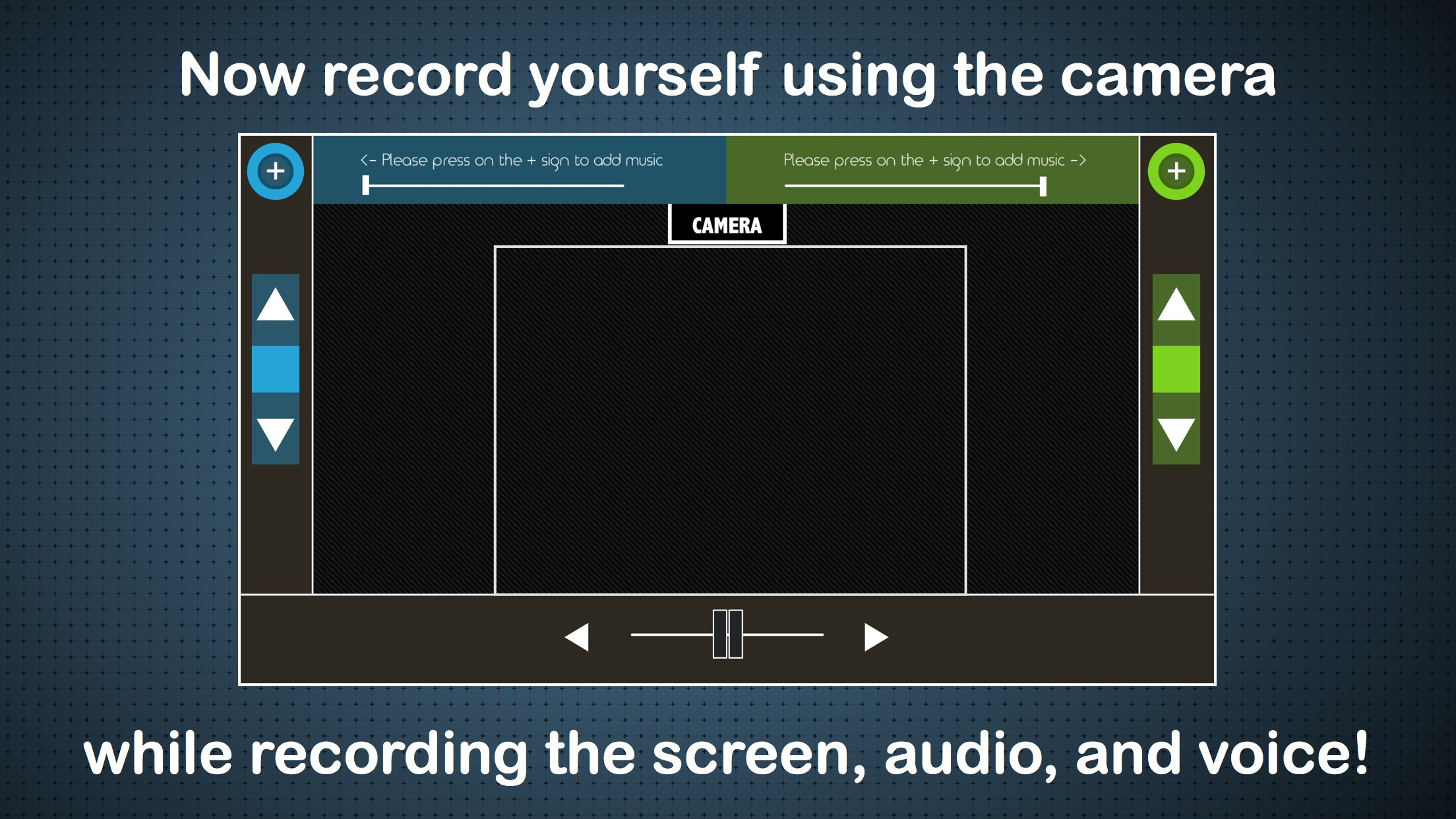 DJ 30-Record Screen, Music & Voice