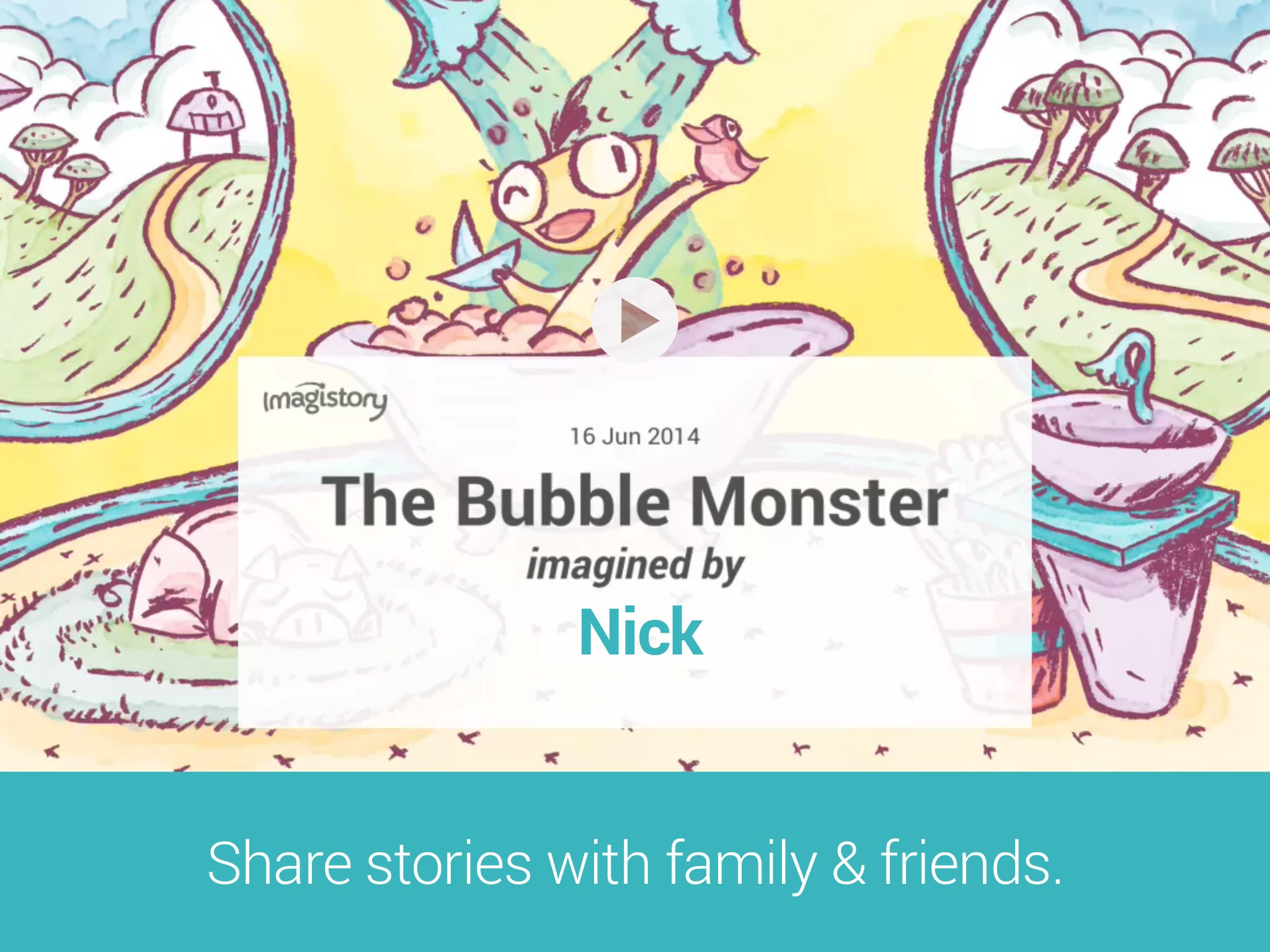 Imagistory: Creative Storytelling App for Kids