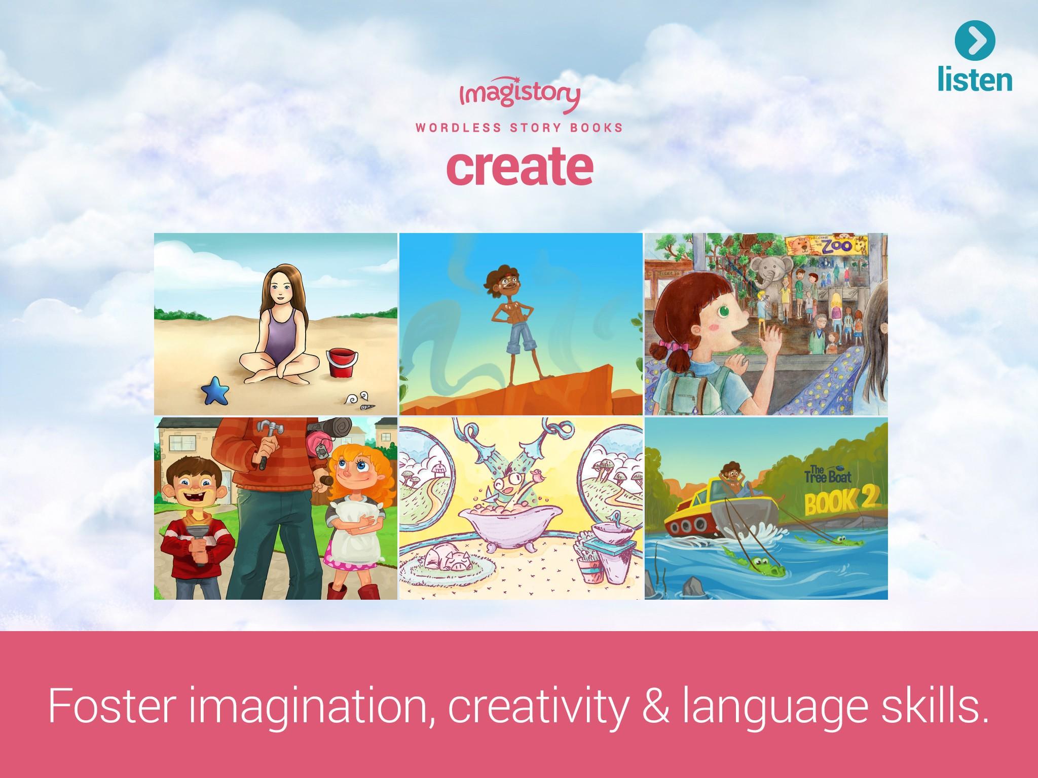 Imagistory: Creative Storytelling App for Kids