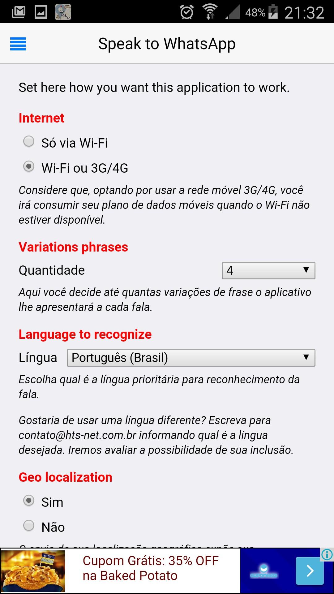 Speak to Chat WhatsApp