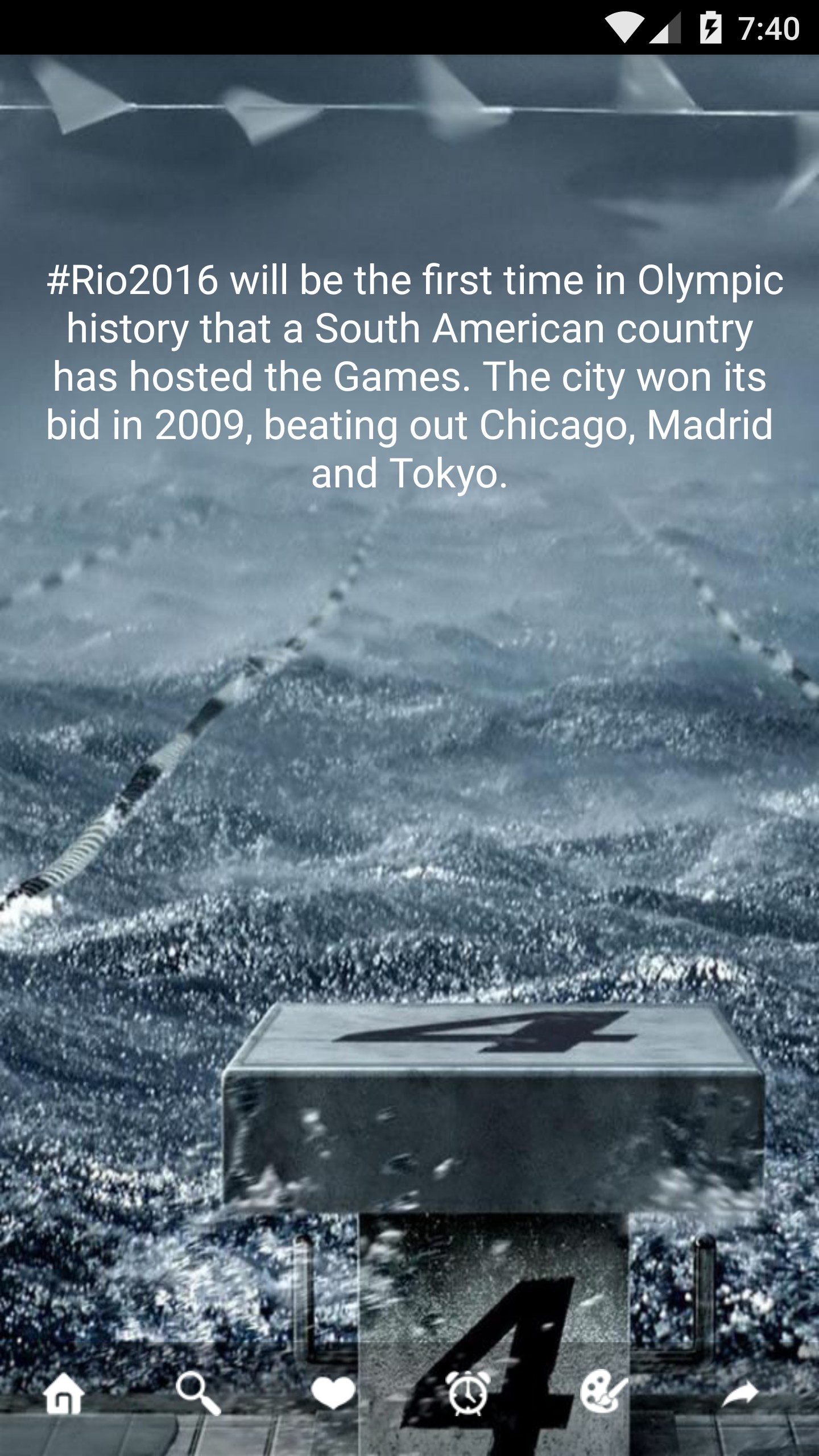Trivia on Olympic ~ Unofficial