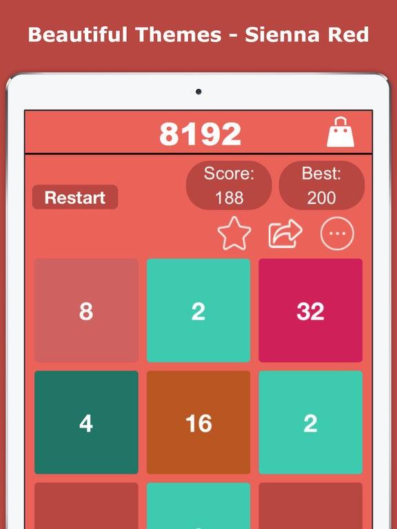 8192 Number Puzzle - 2048's Premium Edition