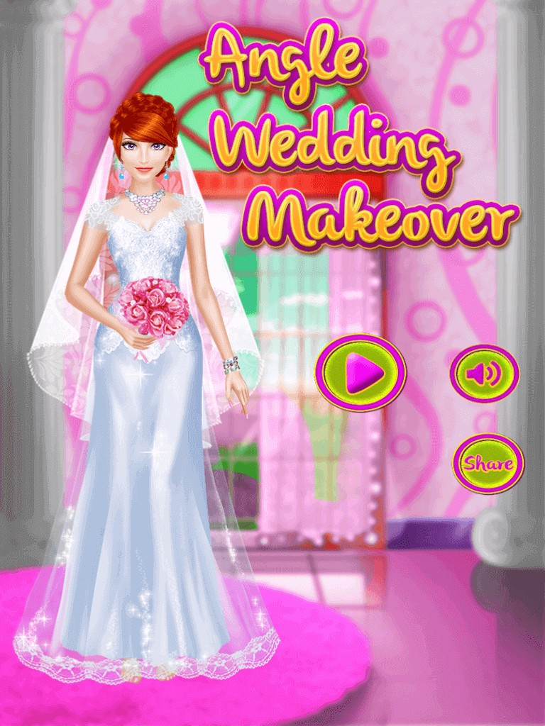 Angel Wedding  makeover