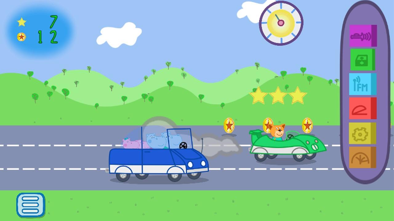 Baby Car Traffic