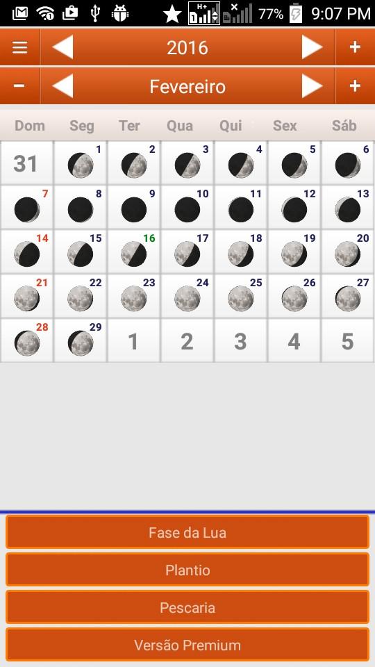 Calendario Lunar Biodinâmico