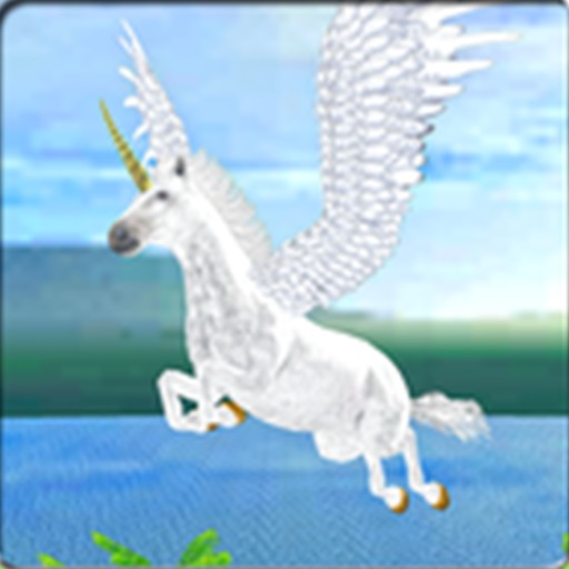 Flying Unicorn Simulator 3D