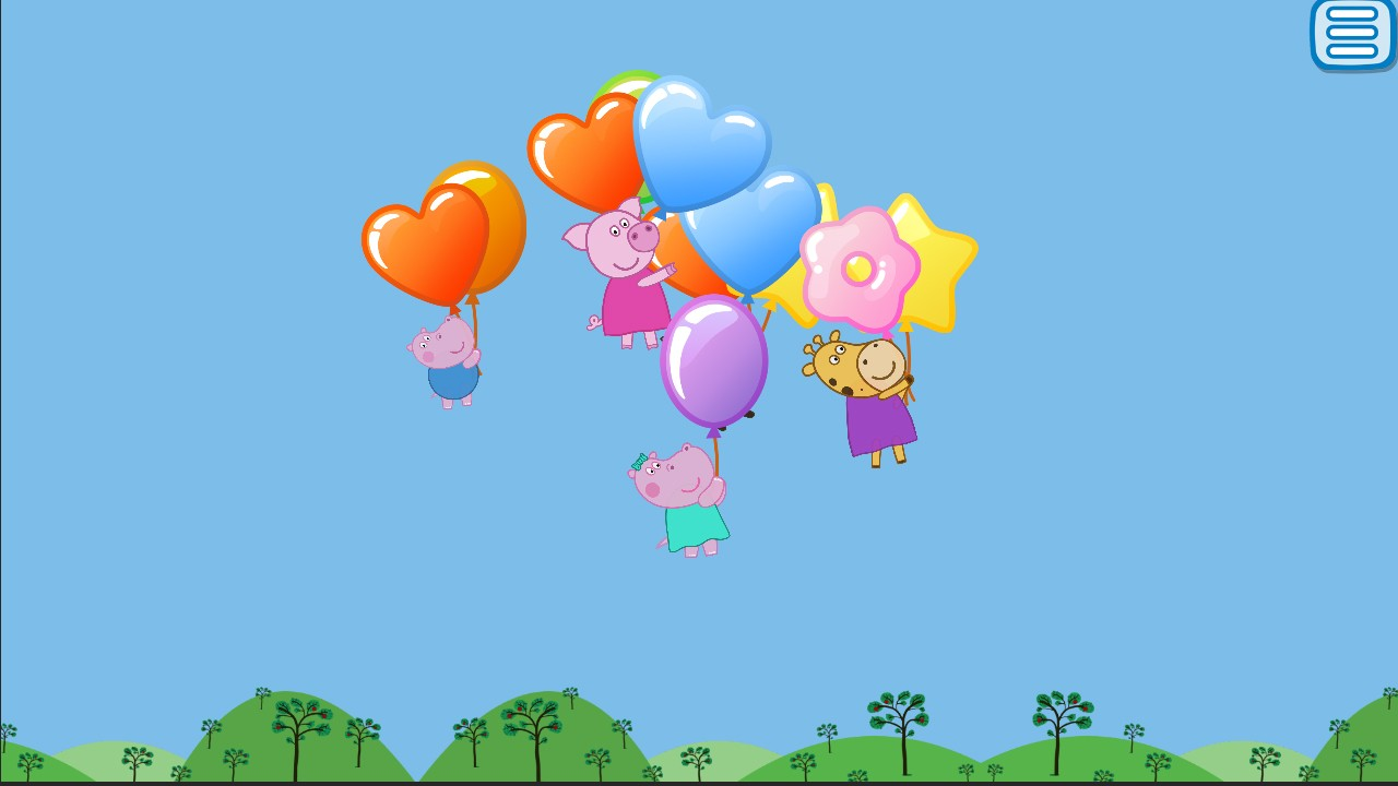Pop Balloons Toddlers Games