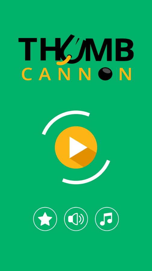 Thumb Cannon - OneTouch Arcade