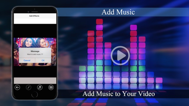 Video Merger - Add Music and overlay effects | iOS