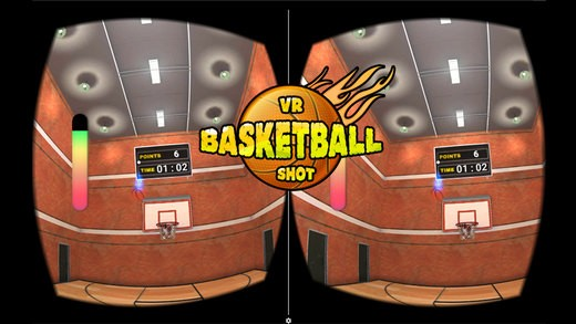 VR Basketball Shoot 3D