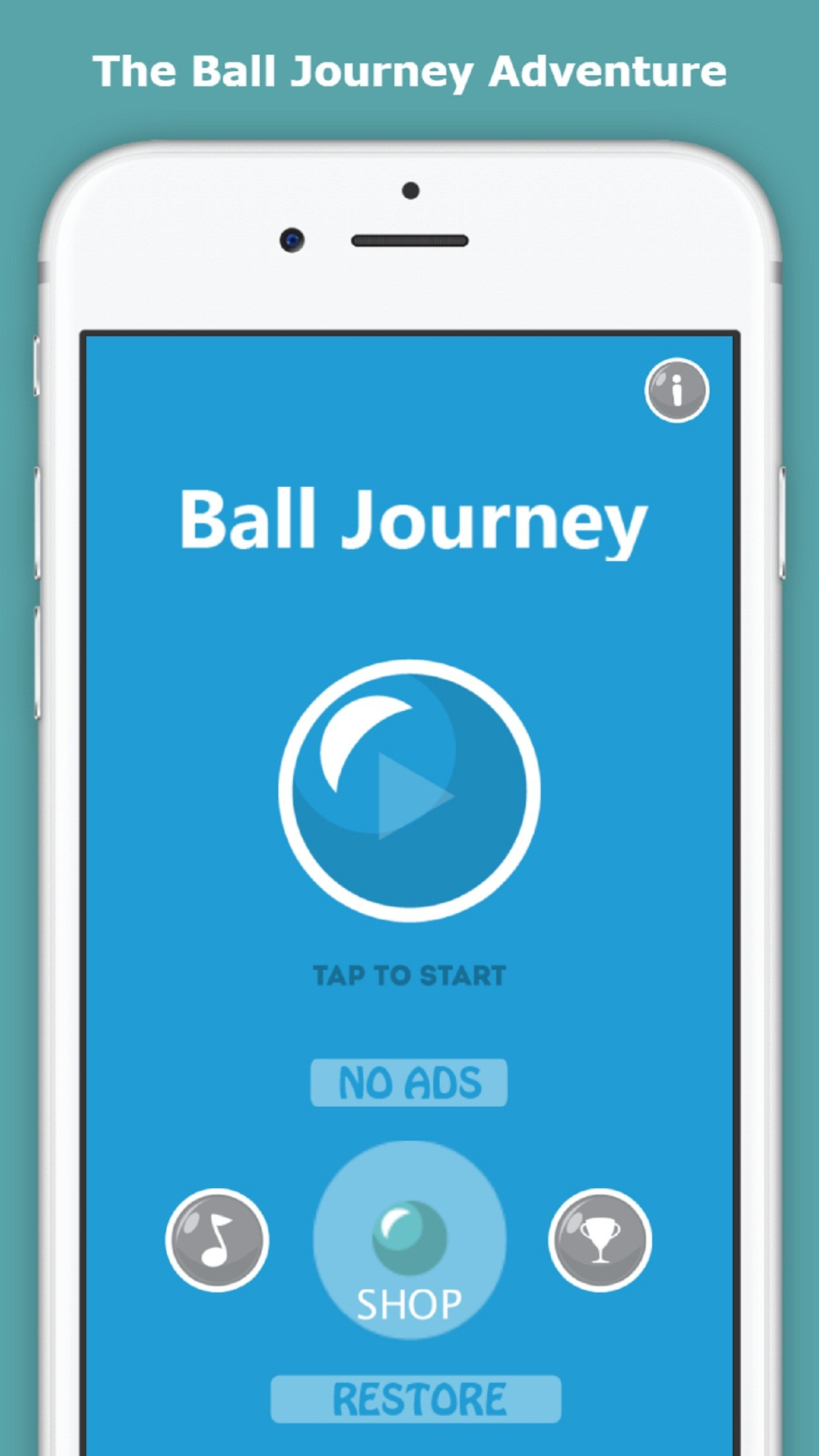 Ball Journey - Endless Fun Arcade Game