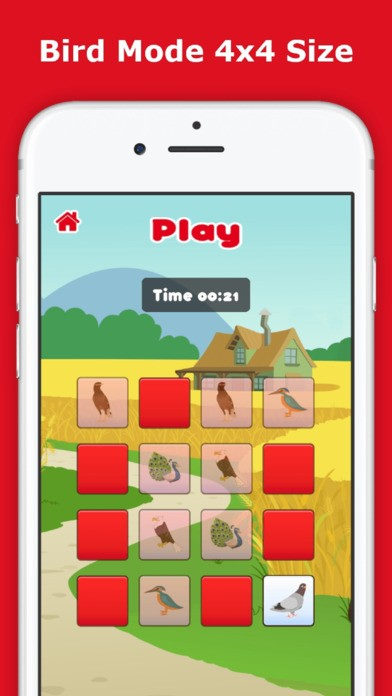 Find The Pair, Memory Matching Cards, Brain Trainer Game