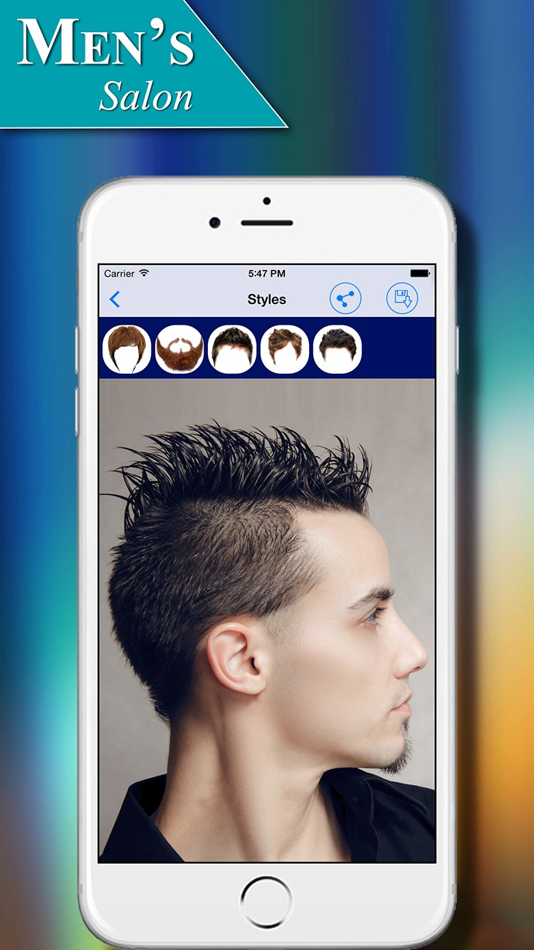 Men S Salon Hairstyles App For Ios