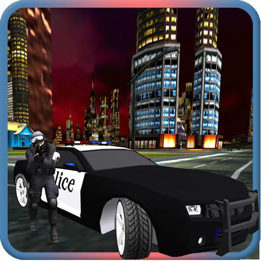 NY Police Car Crime Chase