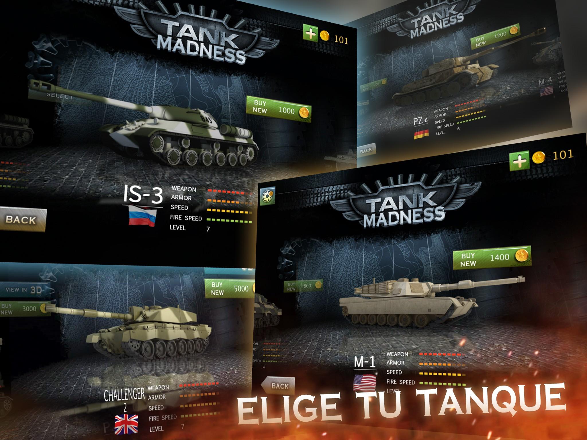 Tank Madness