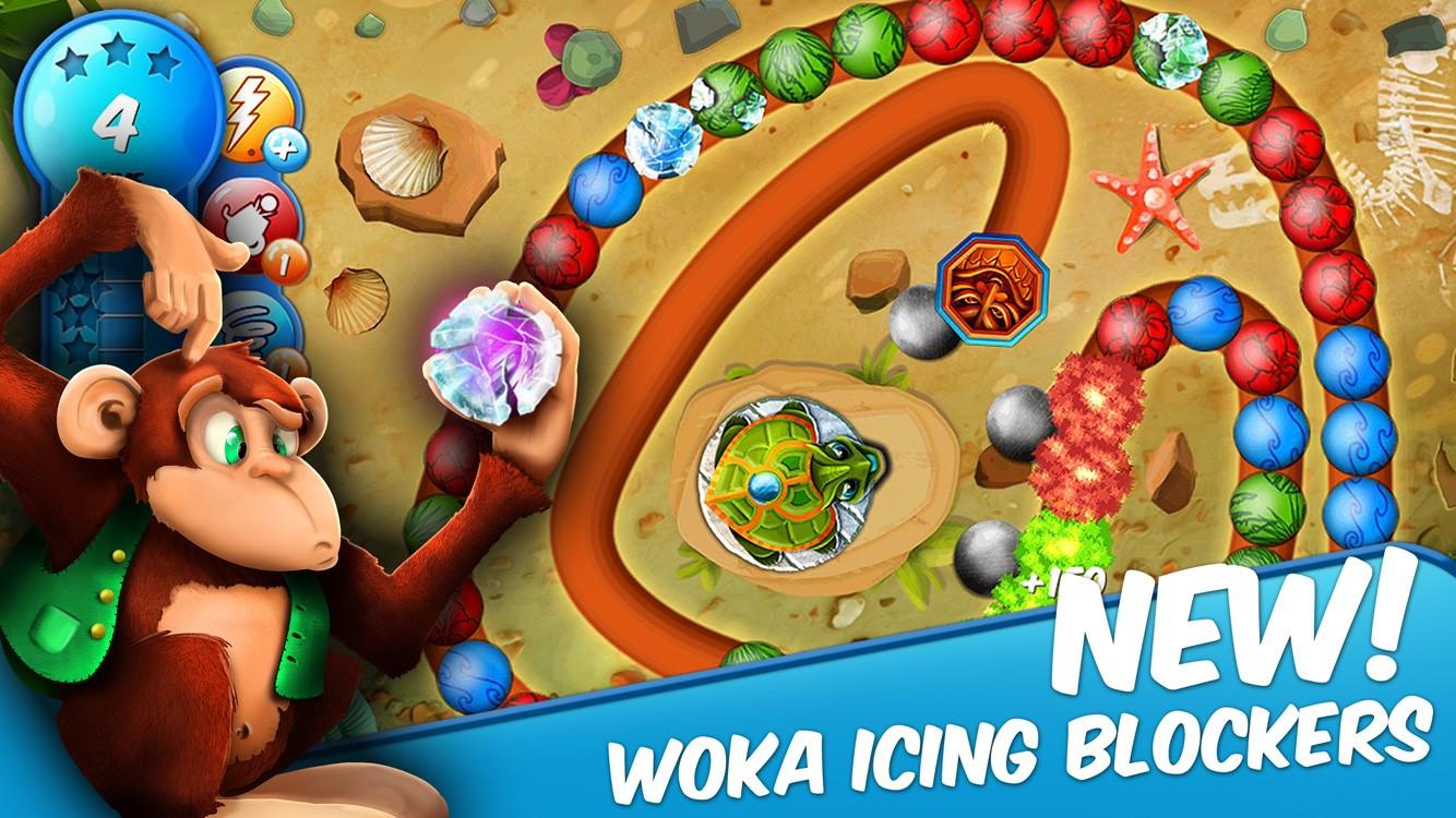 Woka Woka Zuma Style Game