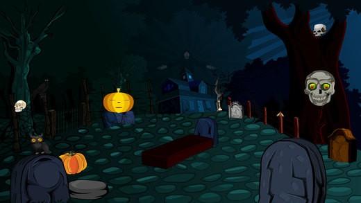 933Ena Halloween Bat House Escape