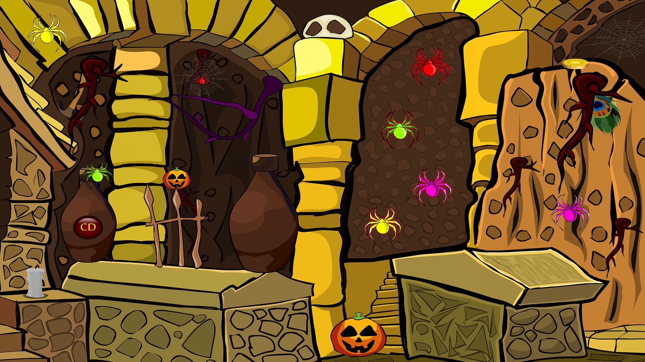 935 Halloween Gold Bar Escape