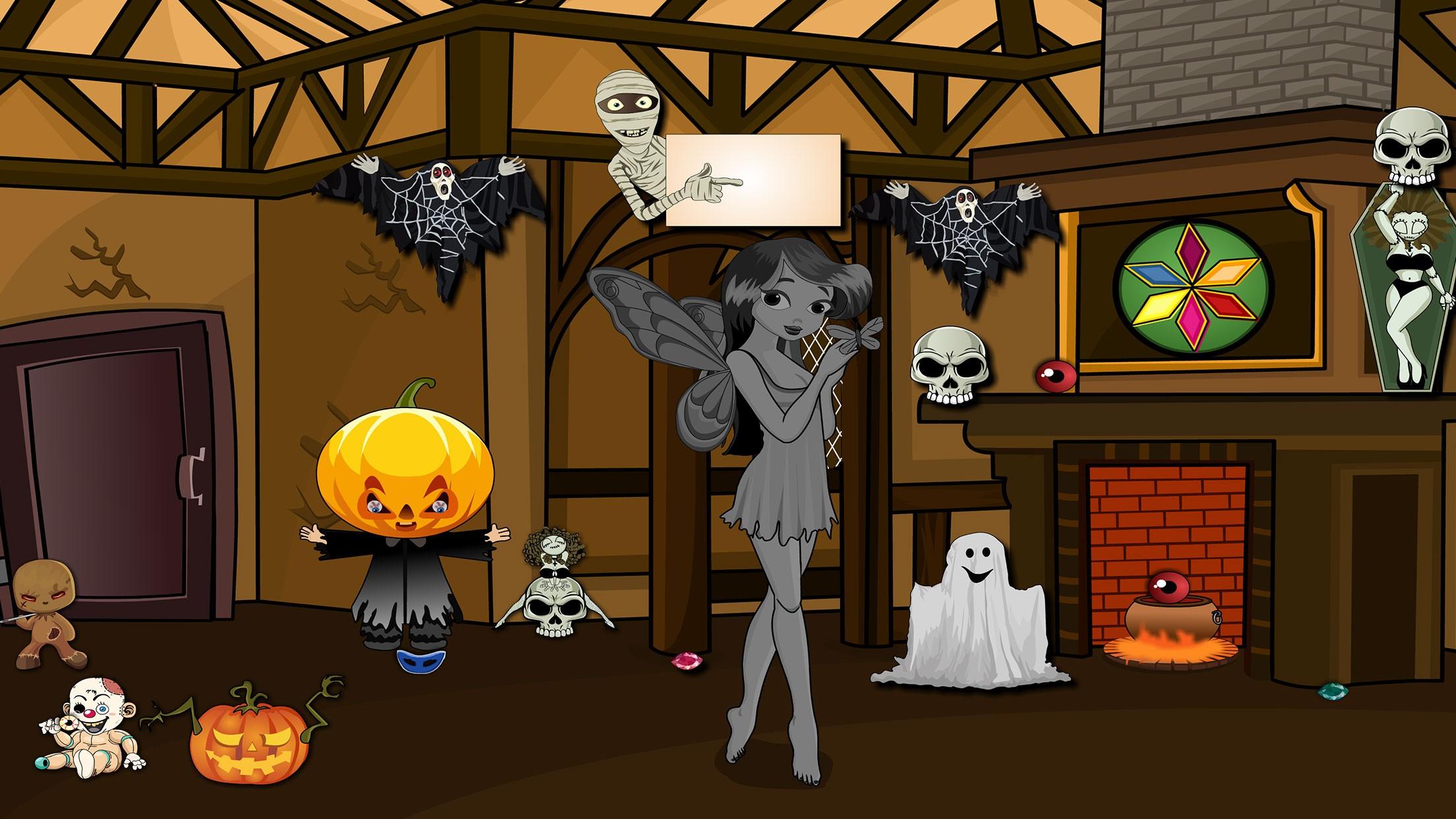 939 Halloween Angel Escape
