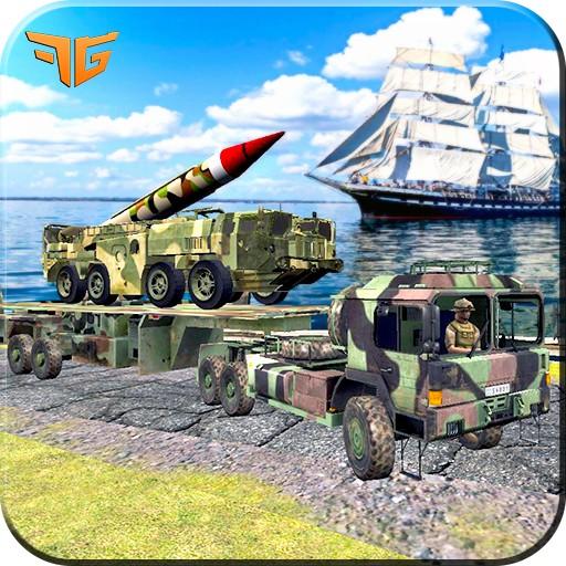 Army War Missile Cargo Truck