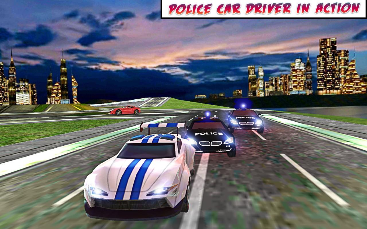 City Police Car 3D
