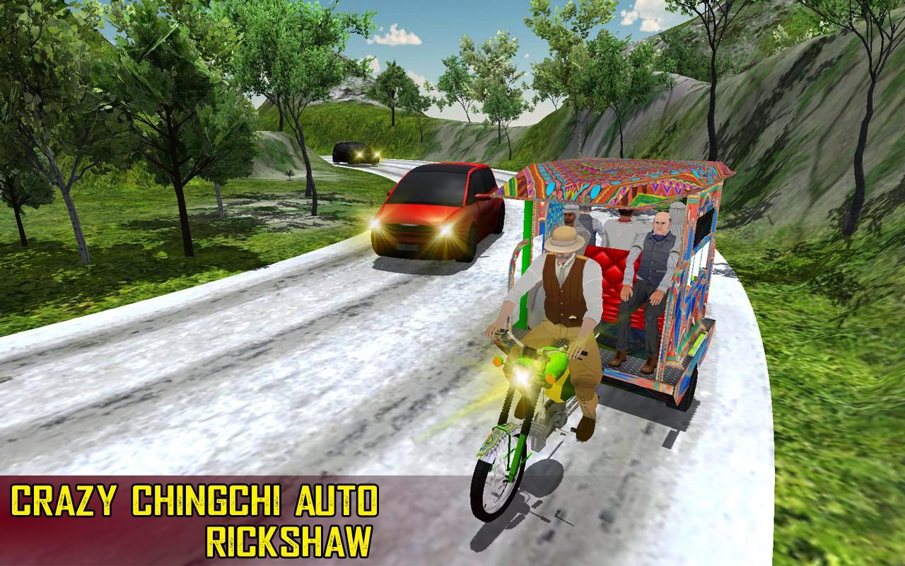 Crazy Chingchi Auto Rickshaw