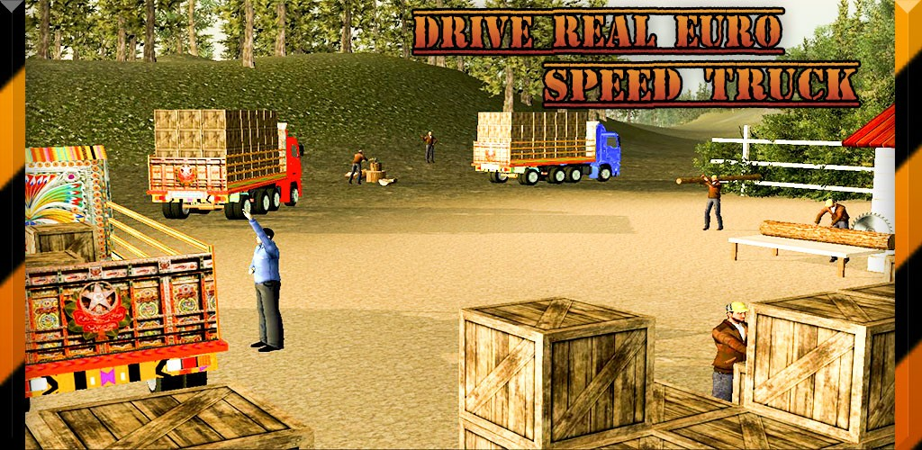 Drive Real Euro Speed Truck