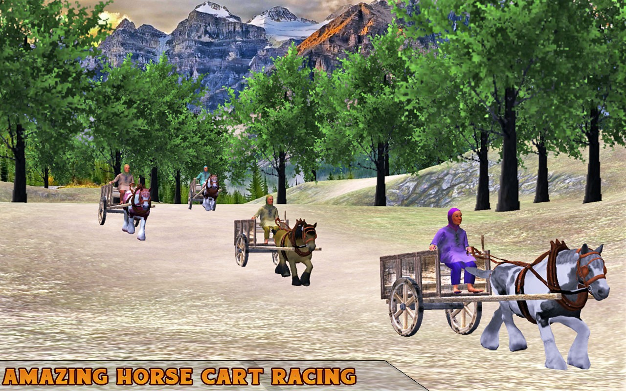 Go Cart Horse Racing