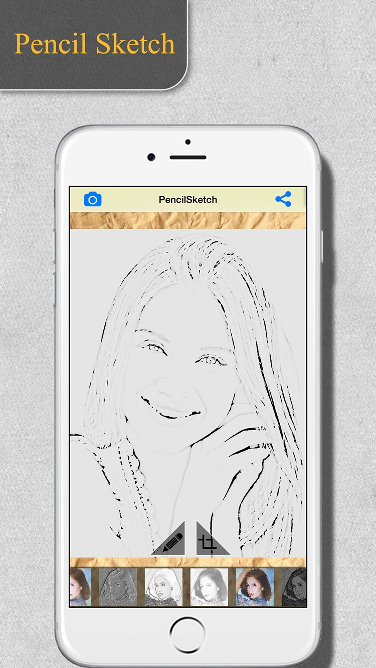 Pencil Sketch Maker | iOS