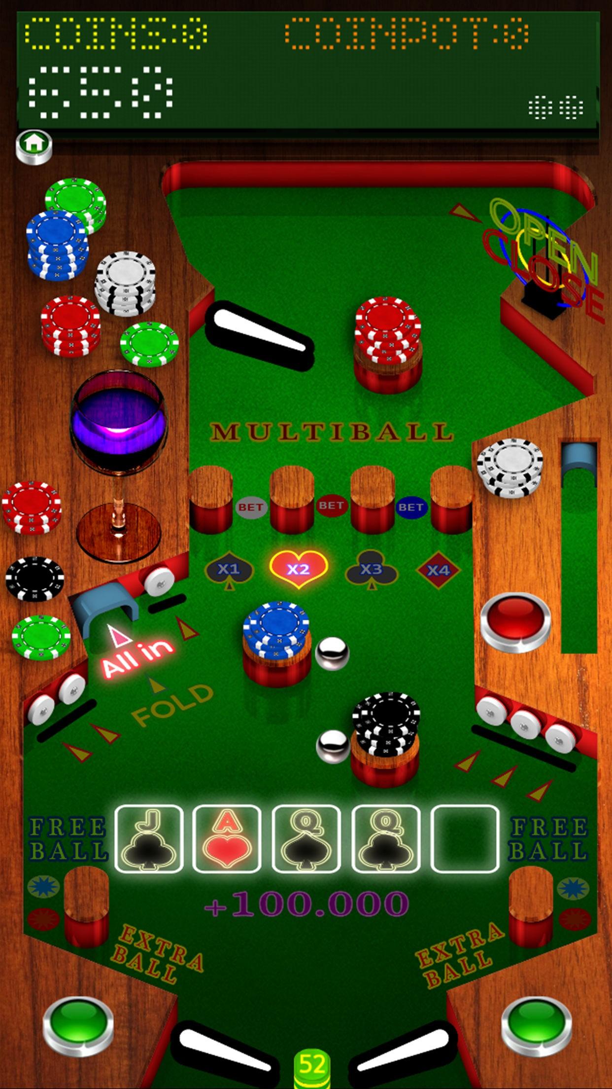 Poker Pinball