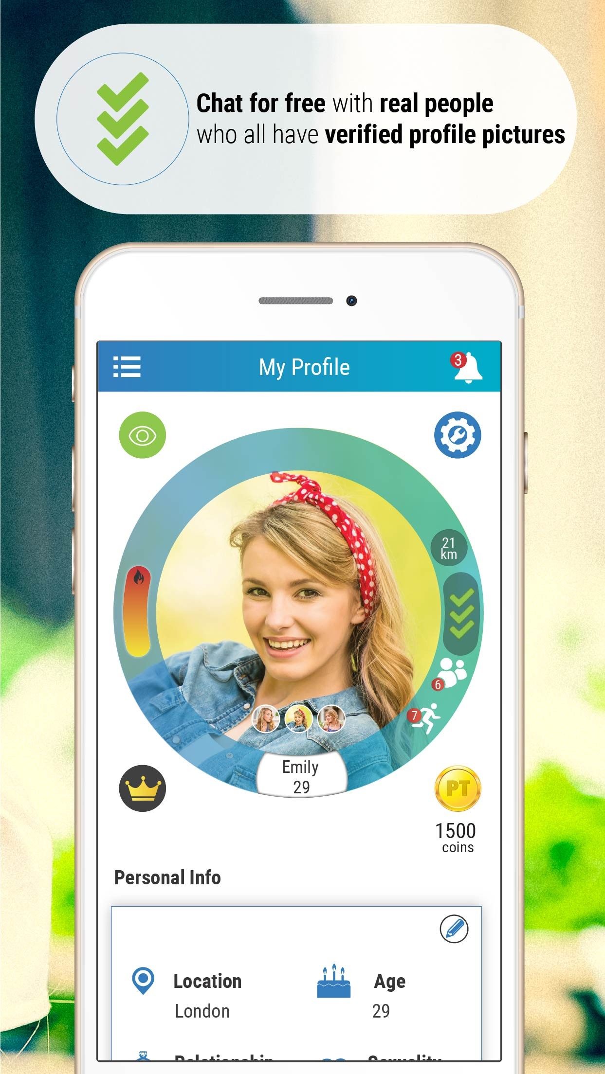 PriveTalk Online Dating App