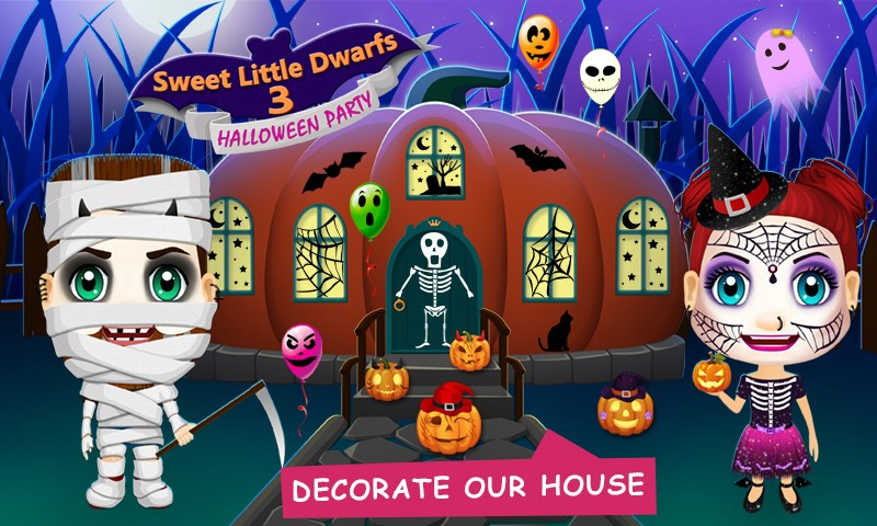 Sweet Little Dwarfs 3 - Halloween Party