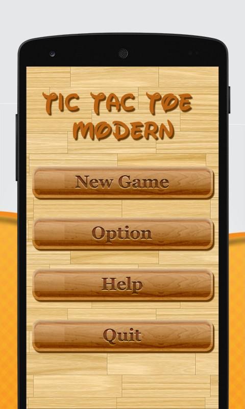 Tic Tac Toe Modern