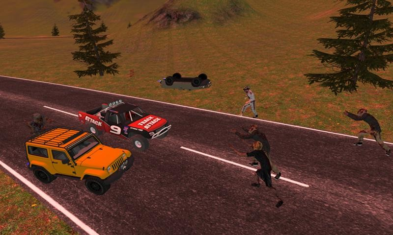 Zombie Killer: Car Derby