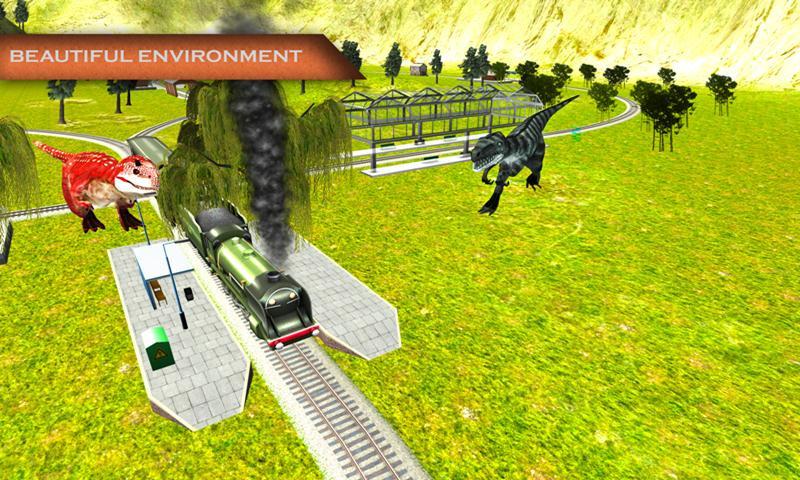 Angry Dinosaur Simulator:Train