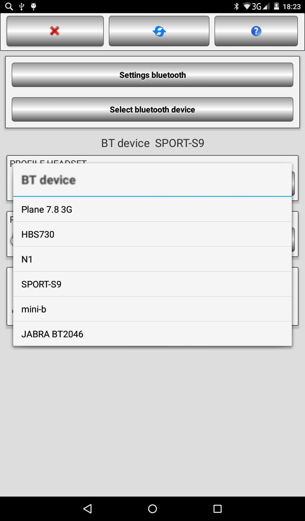 Bluetooth Audio Widget free