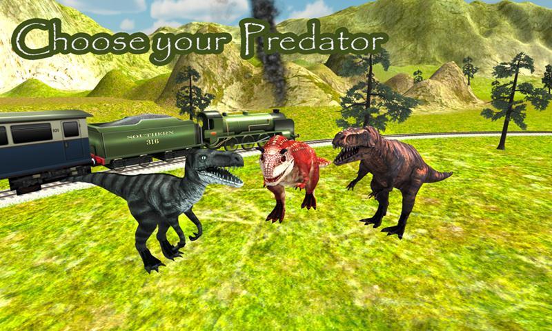 Dinosaur Simulator: Train Park