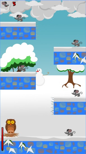 Feed'em-A flappy owl fun game!