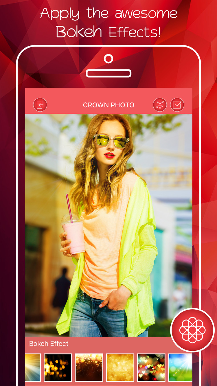 Flower Crown Image Editor | iPhone
