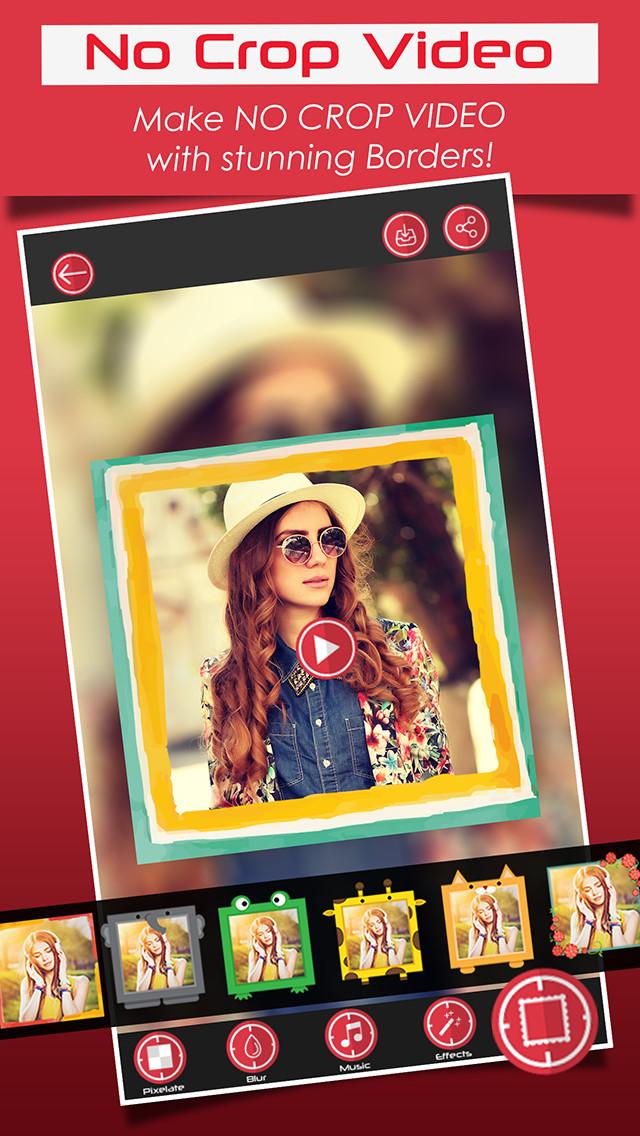 InstaVideo - No Crop | iOS