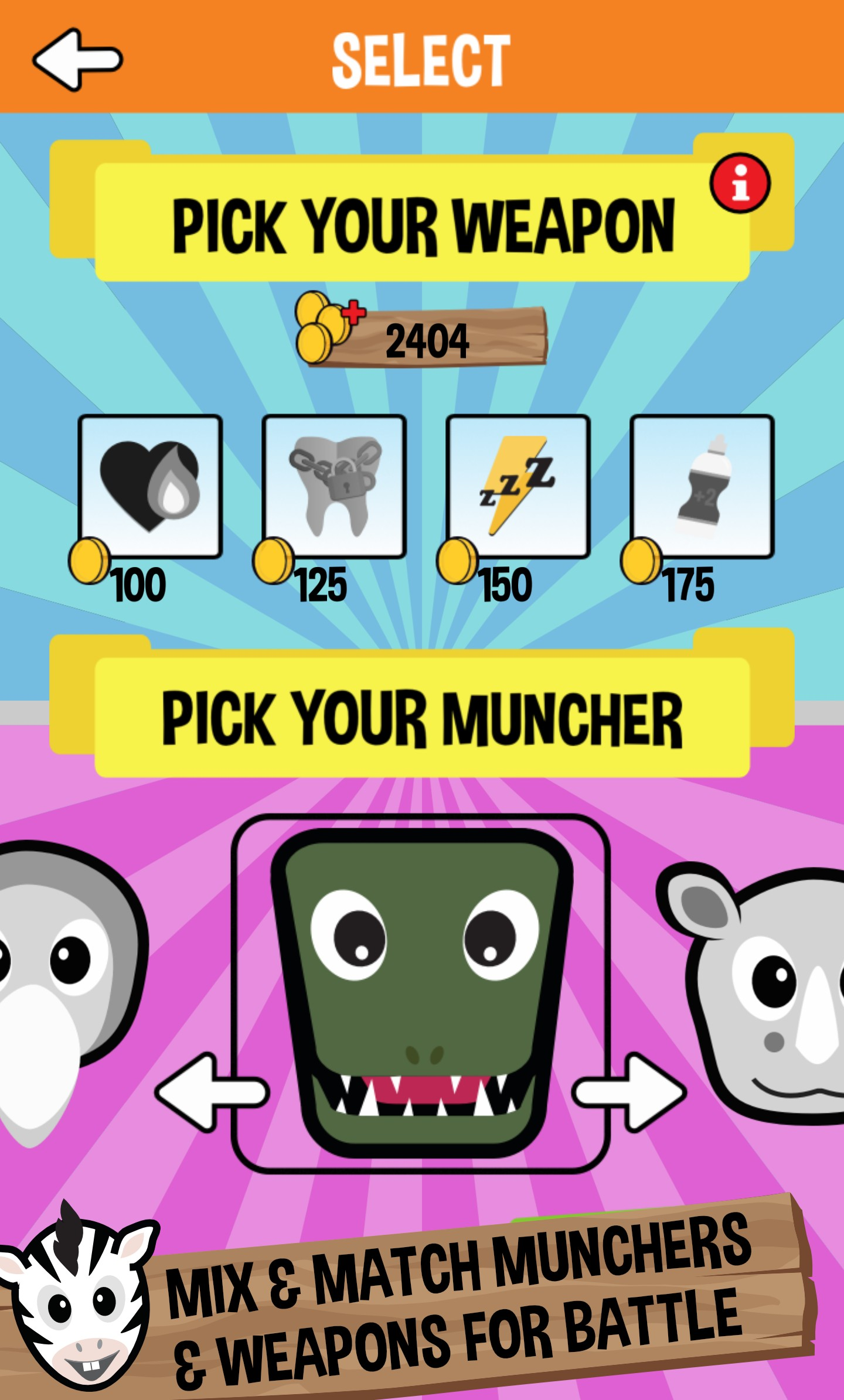 Jungle Munchers