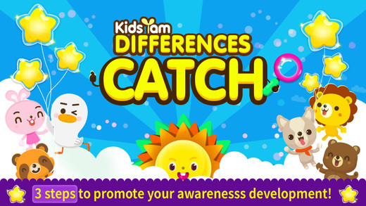 KidsYam's Differences Catch!