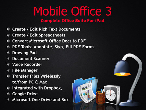 Mobile Office - Word Processor and Reader for Microsoft Office