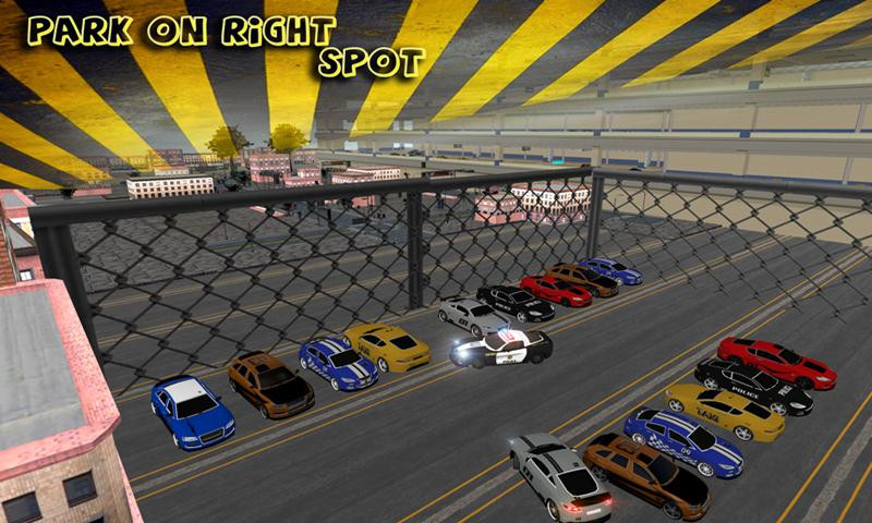 Police Parking Championship 3D