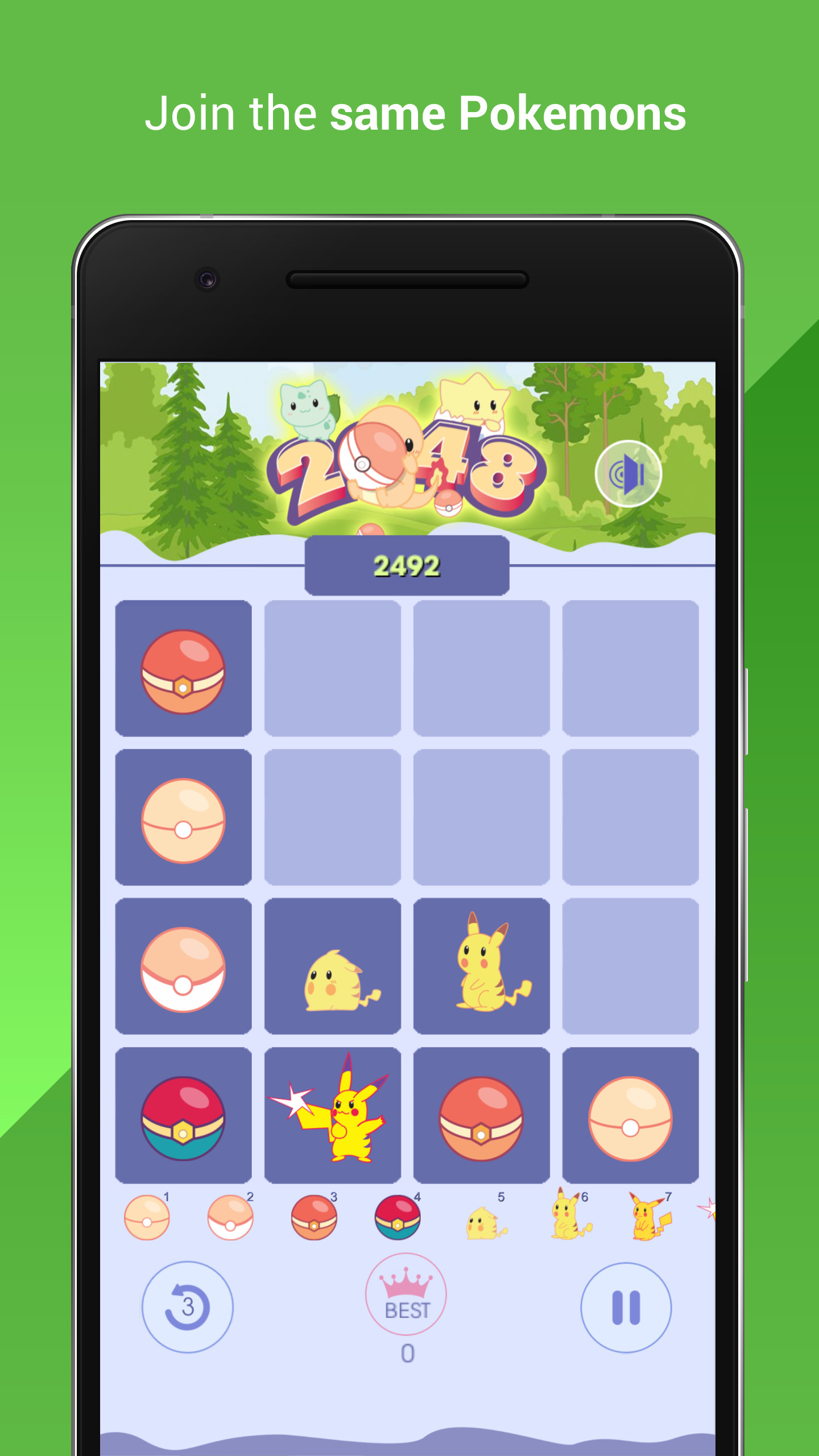 2048 Pokemon
